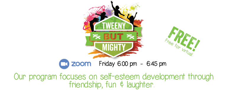 Tweeny But Mighty Free for Virtual Announcement