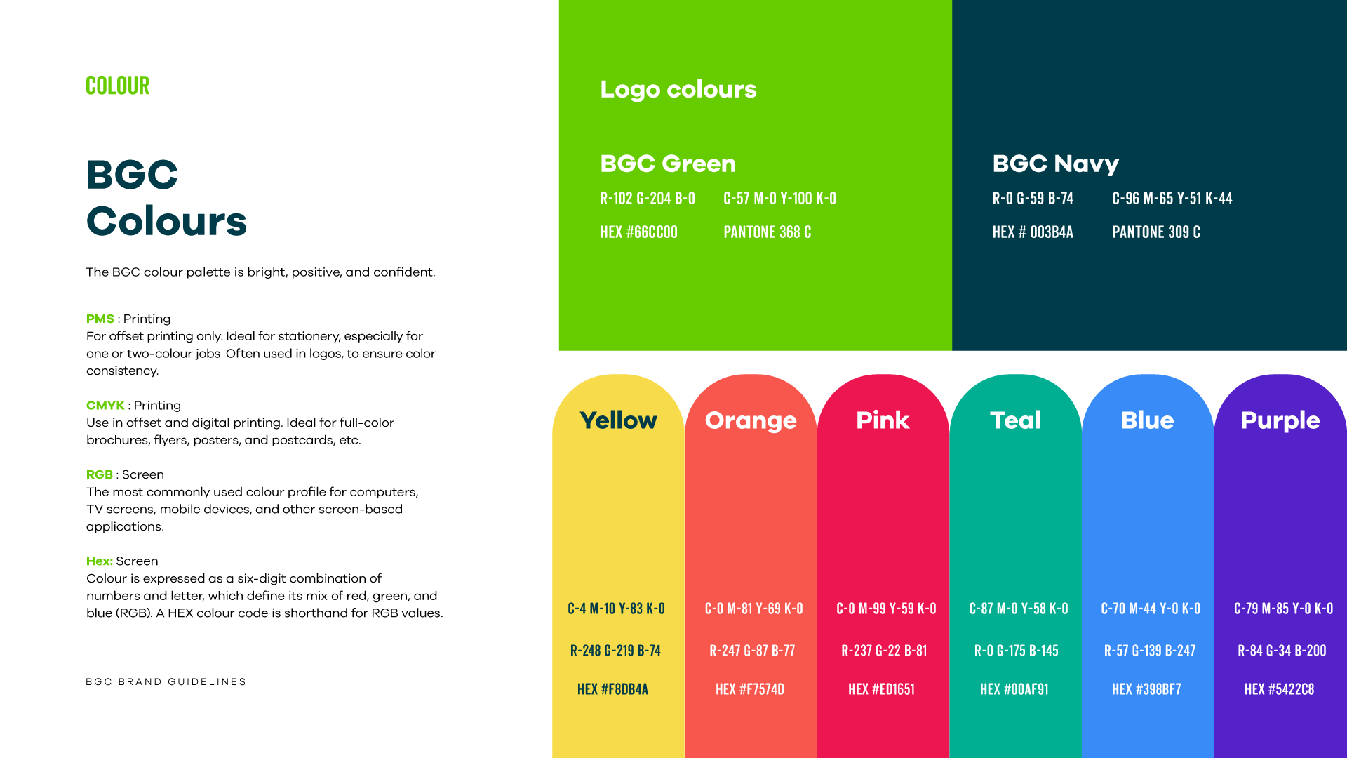BGC Brand Style Guide pg42