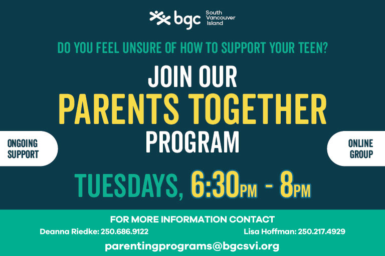 Parents Together Online Virtual Group Tuesdays