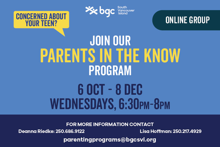 Parents in the Know Wednesdays