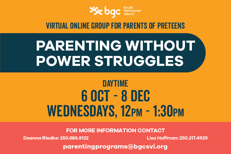 Parenting Without Power Struggles Wednesdays